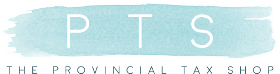 The Provincial Tax Shop Logo